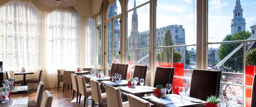 Amba Hotel Charing Cross - The Brasserie View