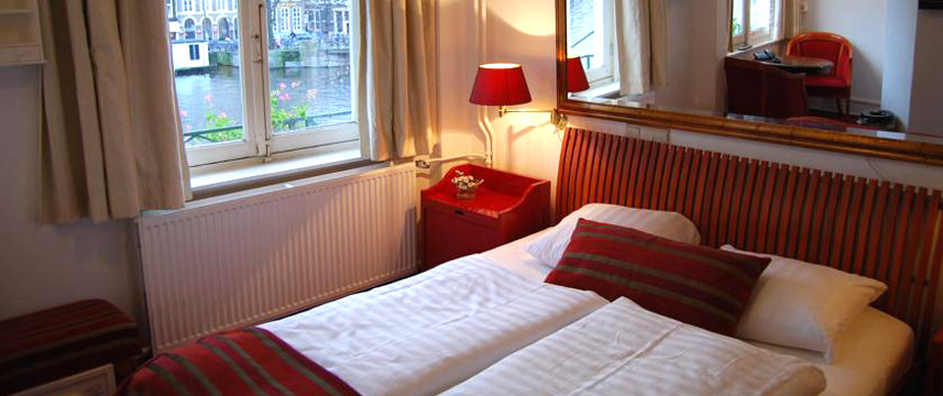 Amsterdam House Hotel Eureka Double Bedroom