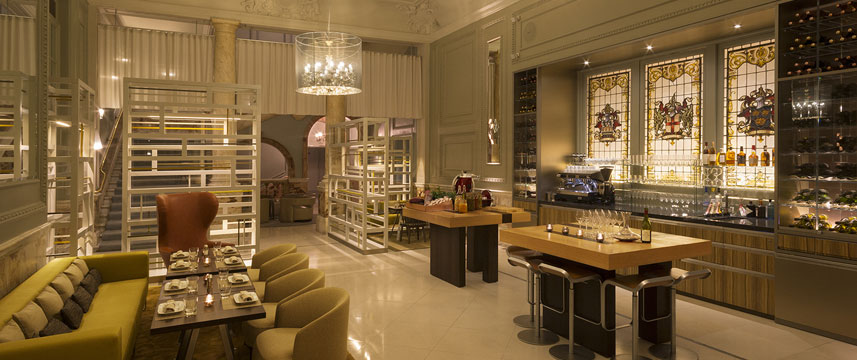 Andaz Champagne bar