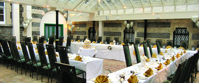 Arnos vale hotel wedding