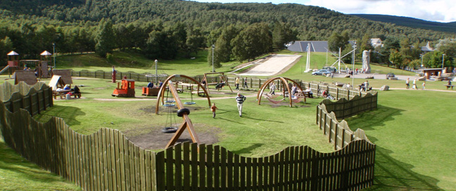 Aviemore Academy - Play Area