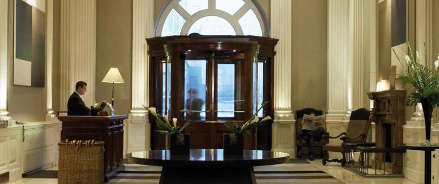 Balmoral Hotel Entrance