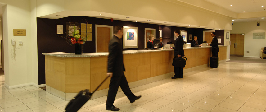 Barbican Deluxe Rooms - Reception Desk