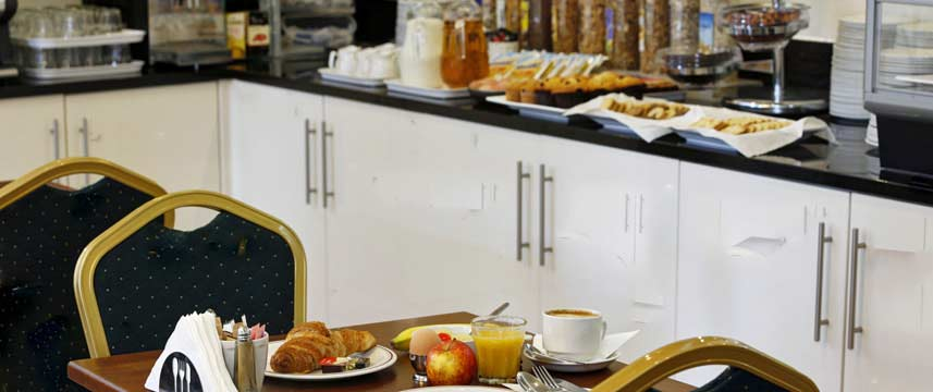 Best Western London Highbury - Breakfast Buffet