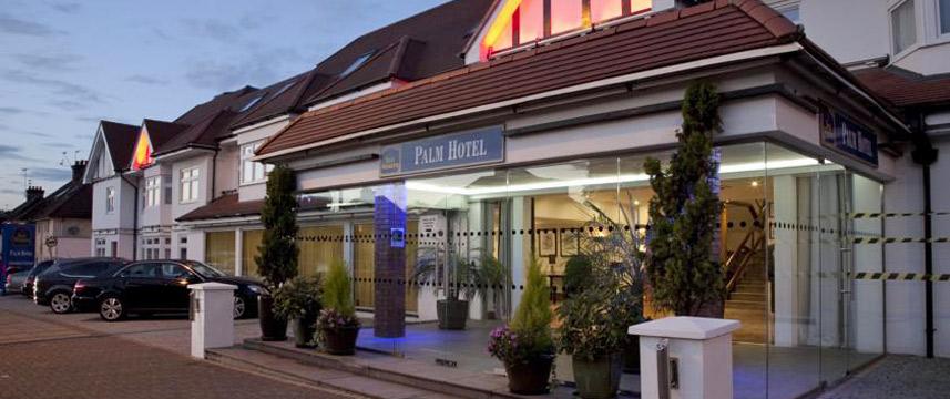 Best Western Palm Hotel - Exterior