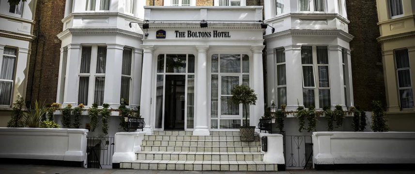 Best Western The Boltons Hotel Entrance