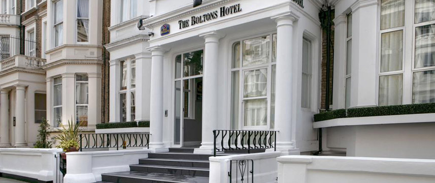 Best Western The Boltons Hotel Exterior