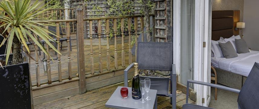 Best Western The Cromwell - Garden Room Terrace
