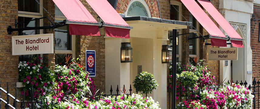 Blandford Hotel - Entrance
