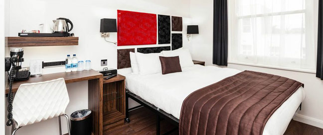 Chiswick Rooms - Double bedroom