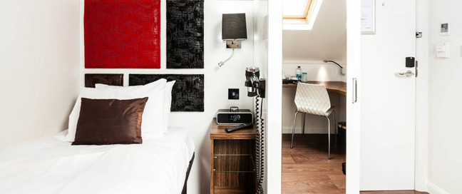 Chiswick Rooms - Single Bedroom