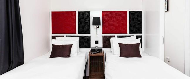 Chiswick Rooms - Twin Bedroom