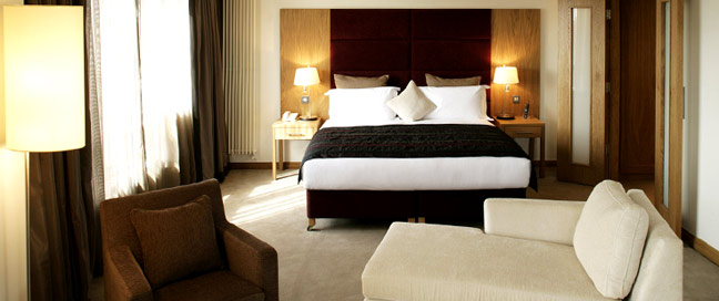 Clarion Liffey Valley Hotel - Penthouse Bedroom