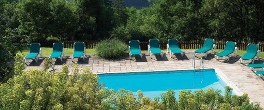Combe Grove Manor Hotel - Pool View