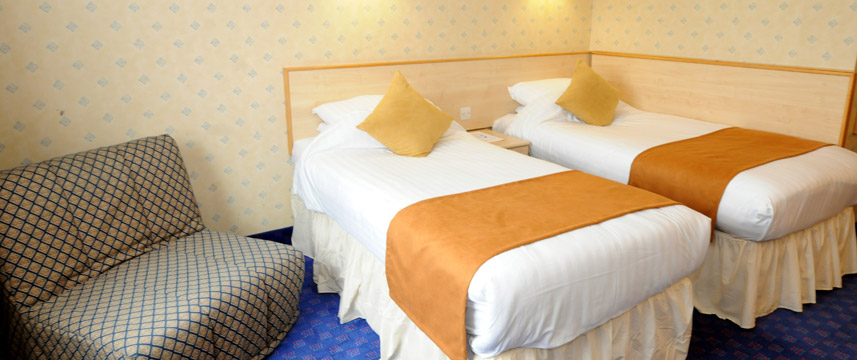 Comfort Hotel Finchley - Twin Bedroom