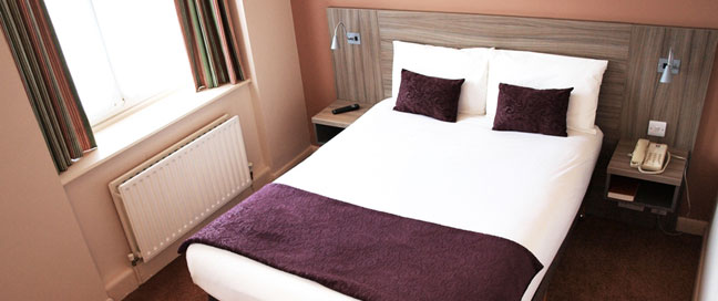 Comfort Inn Vauxhall - Double Room