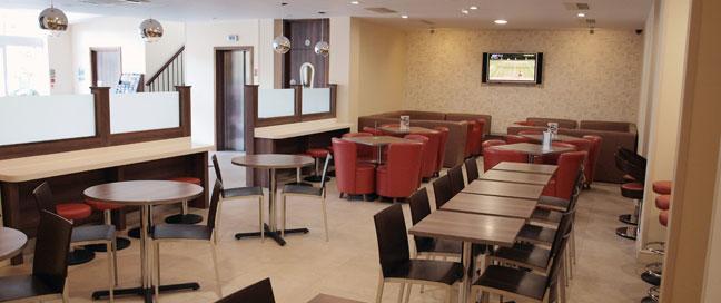 Comfort Inn Vauxhall - Lounge