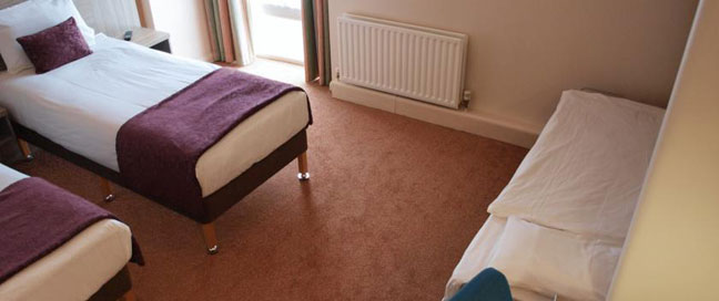 Comfort Inn Vauxhall - Triple room
