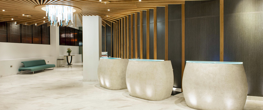Crowne Plaza Kings Cross Lobby Area