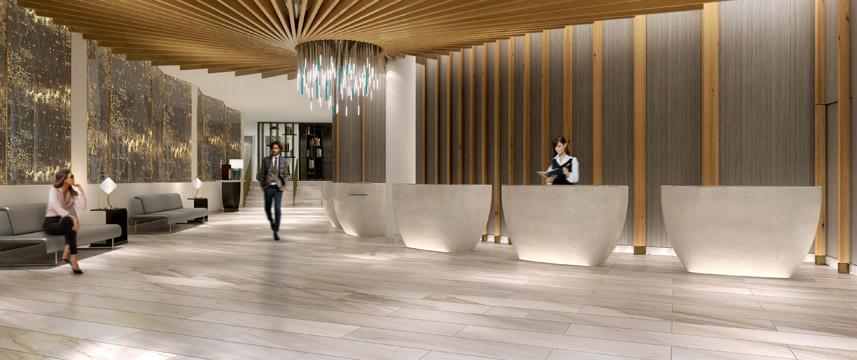 Crowne Plaza Kings Cross Reception Desk