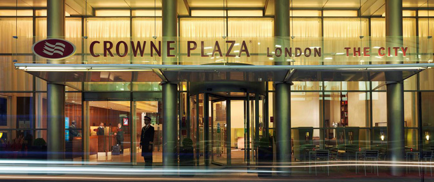 Crowne Plaza London The City - Entrance