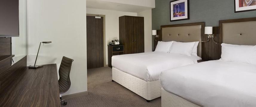 Doubletree London Islington Twin Room