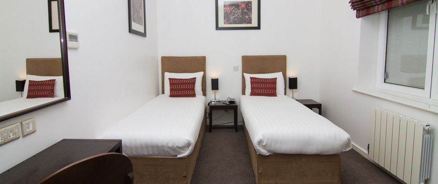 Euston Square Hotel - Twin Room