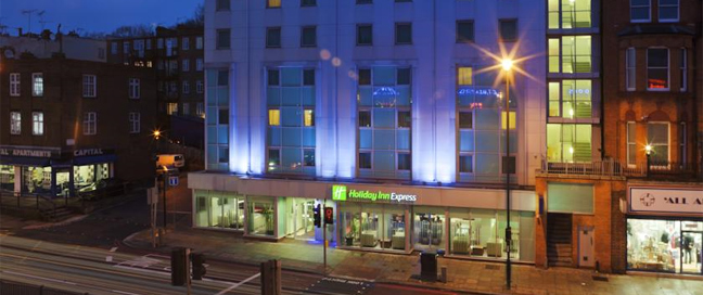 Express by Holiday Inn Swiss Cottage Exterior by Night