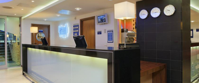 Express by Holiday Inn Swiss Cottage Reception