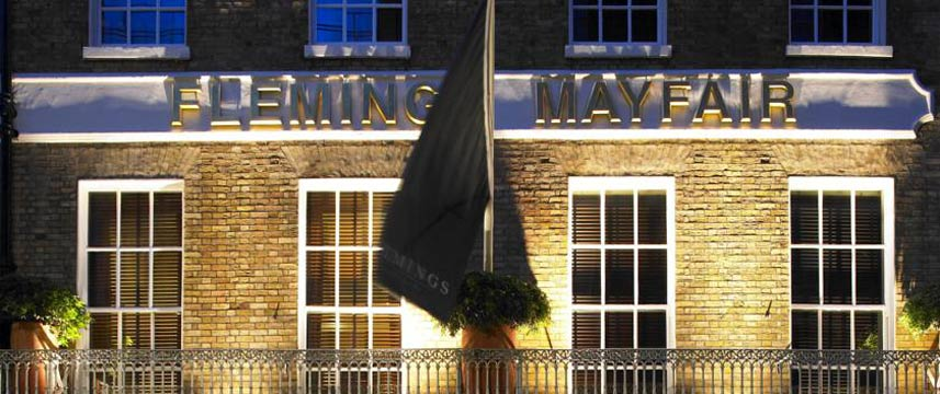 Flemings Hotel Mayfair - Exterior Night