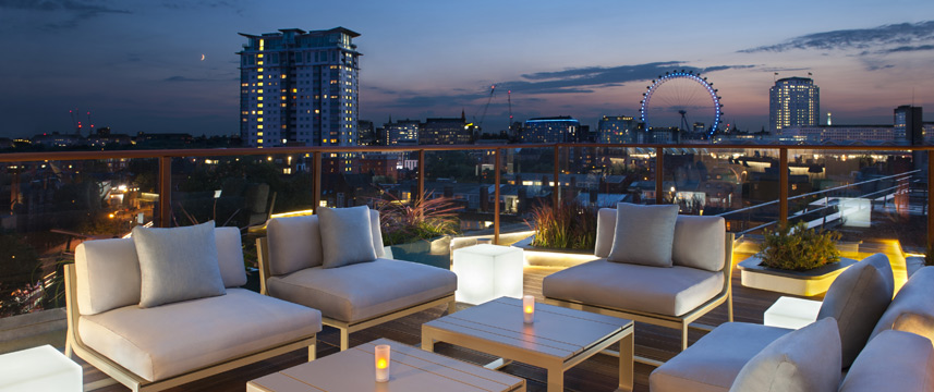 H10 London Waterloo - Sky Bar Terrace
