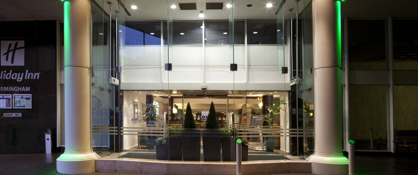 Holiday Inn Birmingham City Entrance