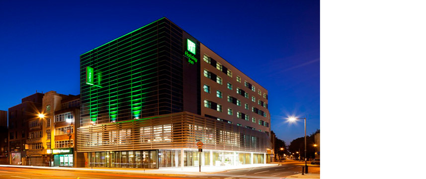 Holiday Inn Commercial Exterior at night