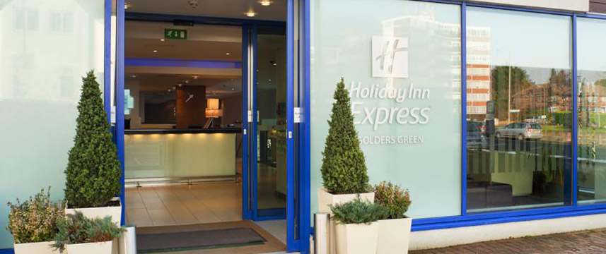 Holiday Inn Express Golders Green Entrance