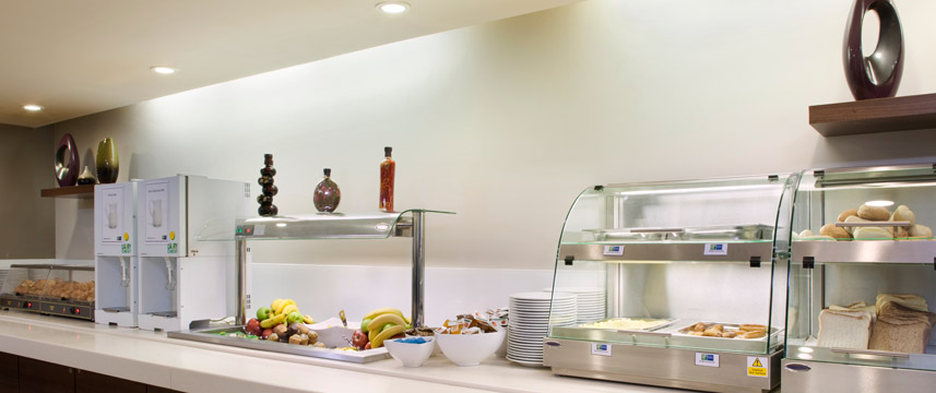 Holiday Inn Express Greenwich Breakfast bar