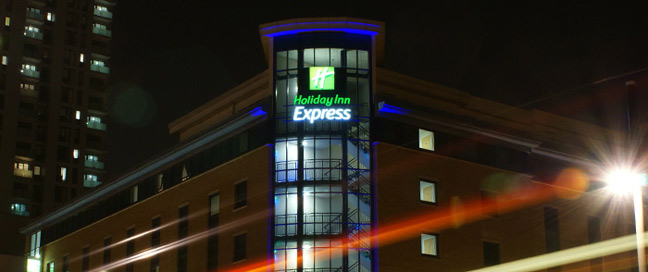Holiday Inn Express London Stratford - Exterior