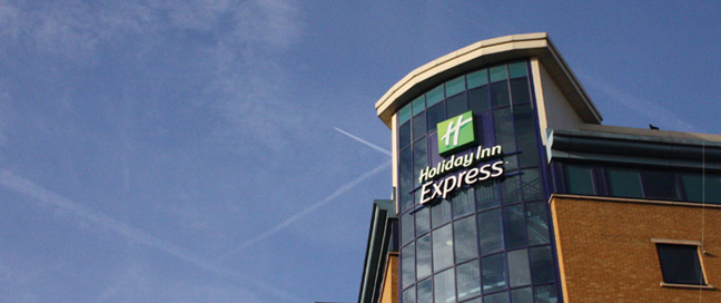 Holiday Inn Express London Stratford External