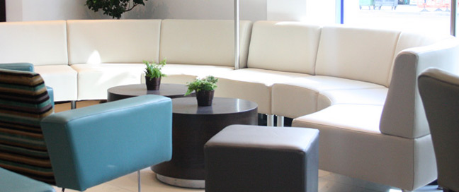 Holiday Inn Express London Stratford Lobby Seating