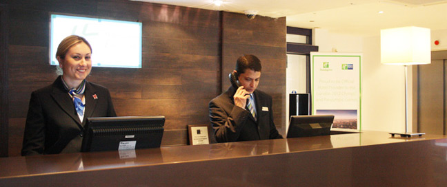Holiday Inn Express London Stratford Reception