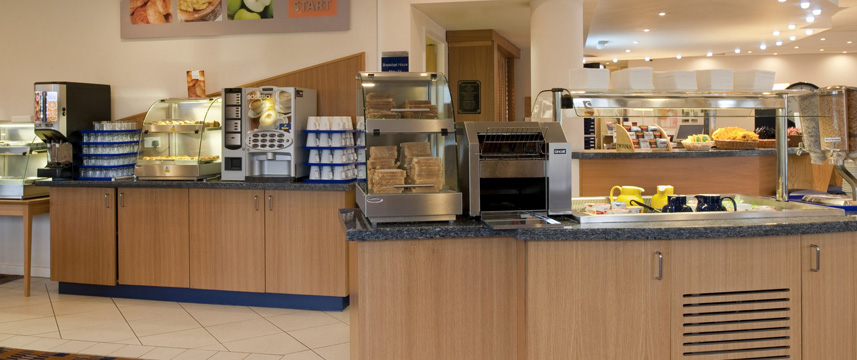 Holiday Inn Express Manchester - East - Breakfast Bar