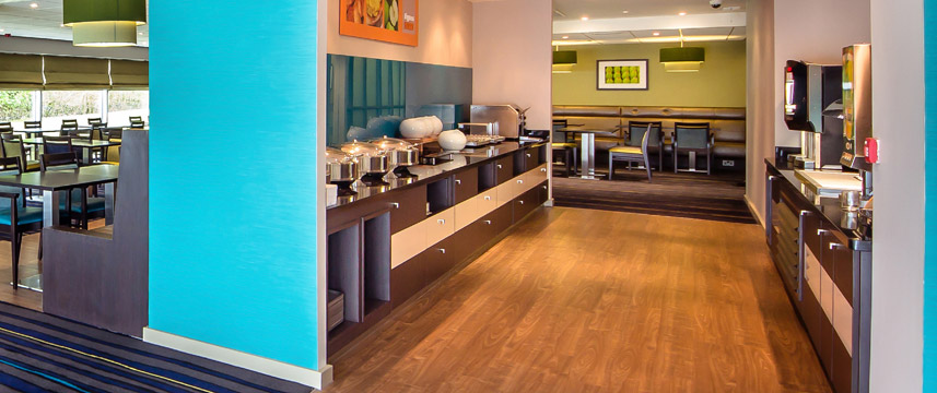 Holiday Inn Express Manchester Airport - Breakfast Area