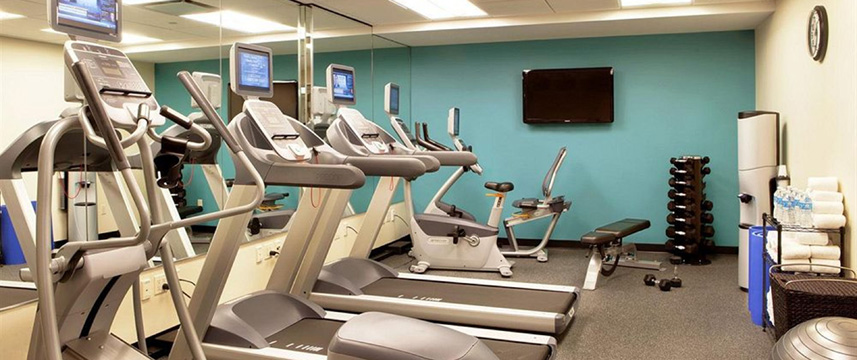 Holiday Inn Express Times Sq South Gym