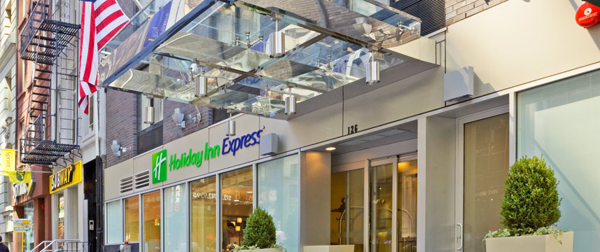 Holiday Inn Express Wall Street - Exterior Day