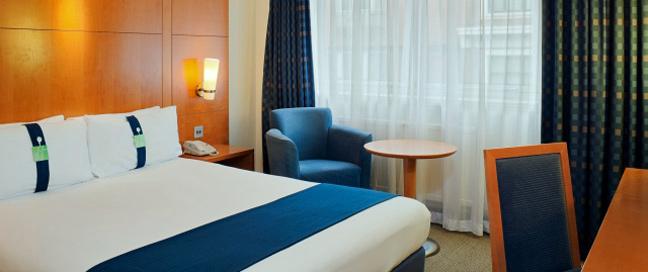 Holiday Inn London Regents Park - Double Bedroom