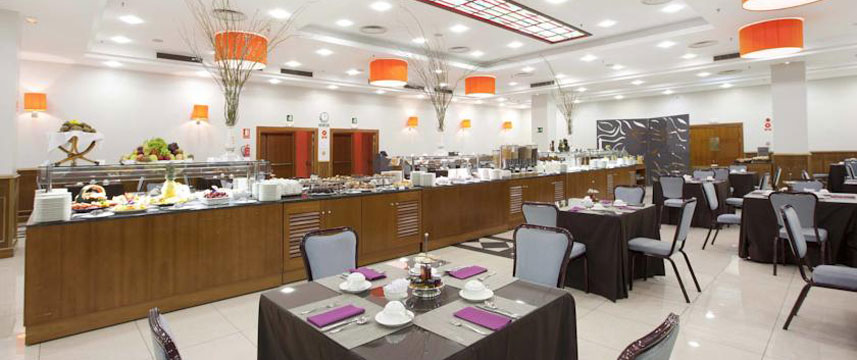 Holiday Inn Madrid Calle Alcala Breakfast Room