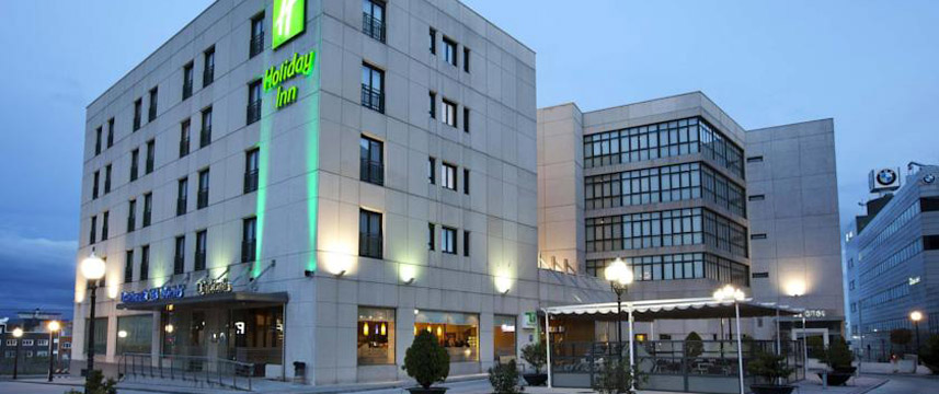 Holiday Inn Madrid Calle Alcala Exterior Evening