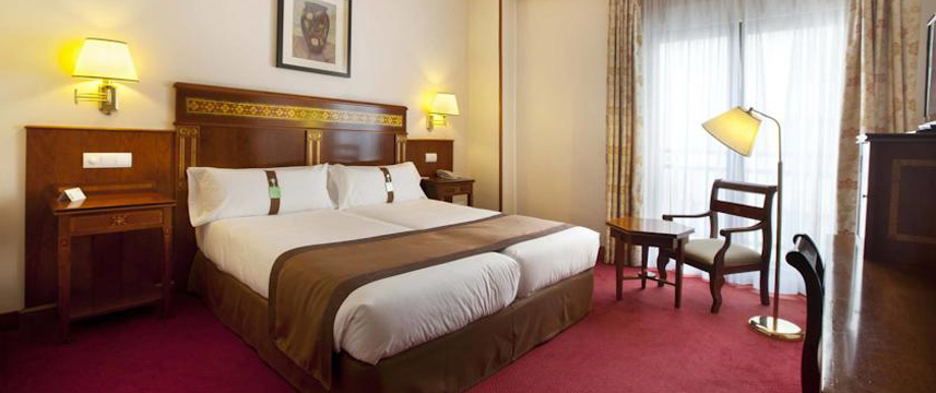 Holiday Inn Madrid Calle Alcala Twin Room