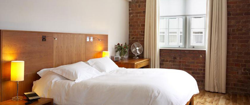 Hope Street Hotel - Double Bedroom