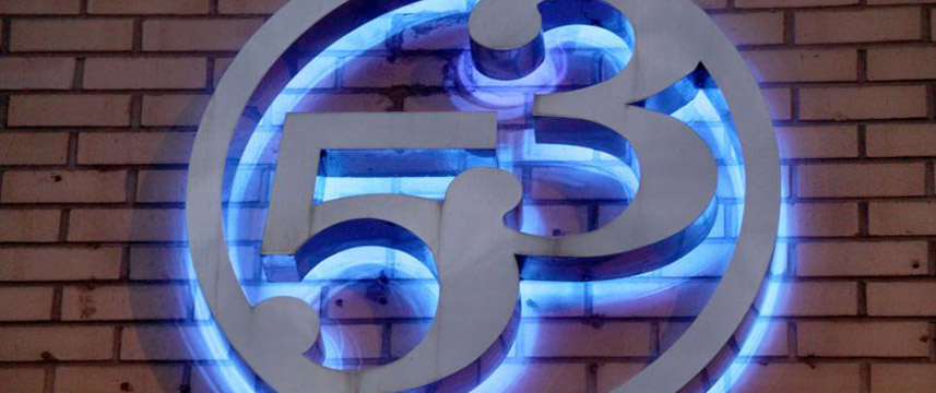 Hotel 53 - Sign