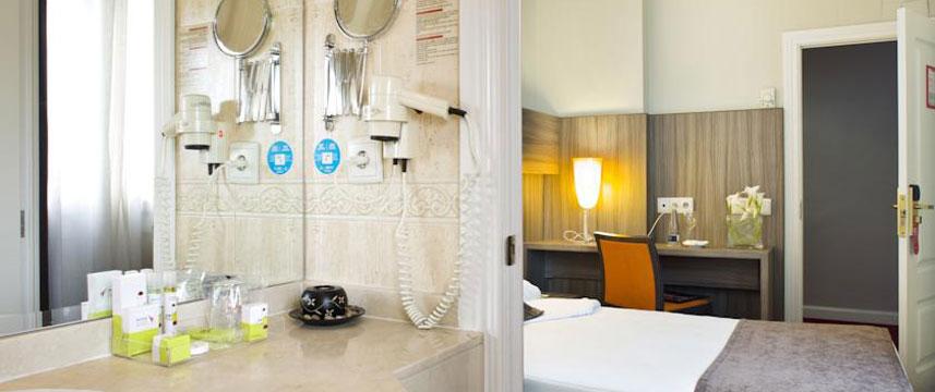 Hotel Husa Serrano Royal - Double Bedroom